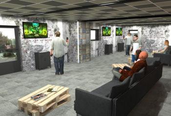 salle d'arcade VR Destination VR