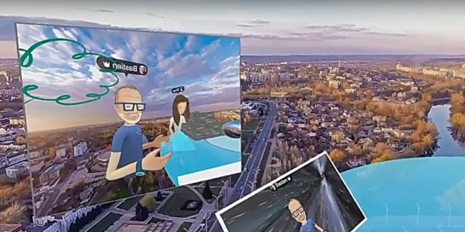 facebook spaces oculus rift