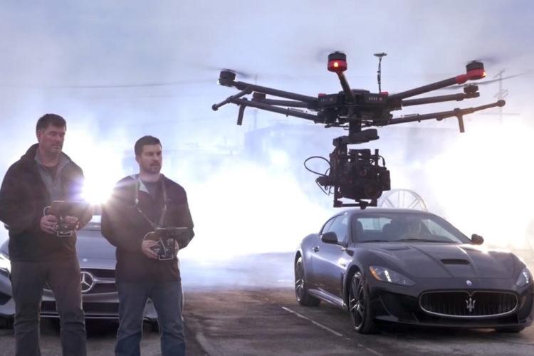 Matrice 600 Pro drone pour la réalité virtuelle