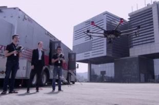 Matrice 600 Pro drone pour filmer en vr a 360 degrés