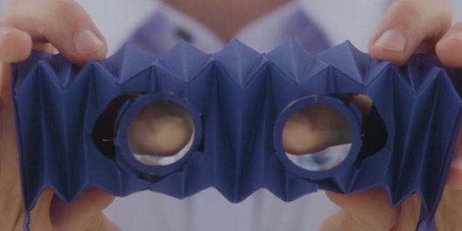 Micro VR KIt lunettes de réalité virtuelle pliables