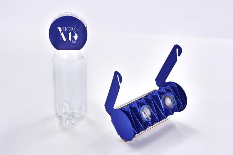 Micro VR KIt lunettes de réalité virtuelle pliables origami