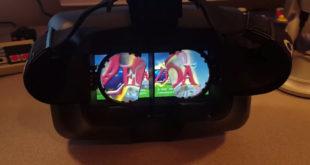 Nintendo Switch avec réalité virtuelle