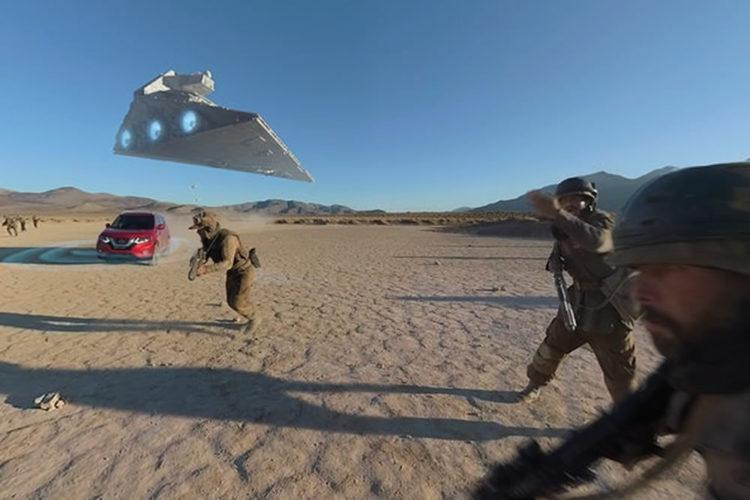 Nissan réalité virtuelle VR Star Wars