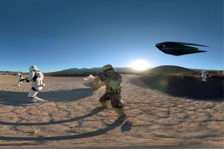 Nissan Star Wars expérience réalité virtuelle