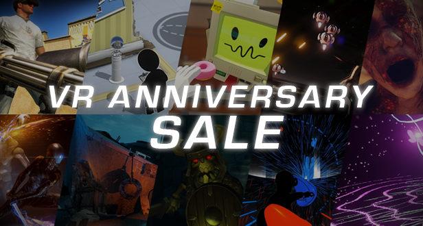 Steam VR anniversaryraw data tilt brush réduction promotion solde