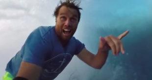 Surf vidéo 360 degrés Teahupoo Polynésie française