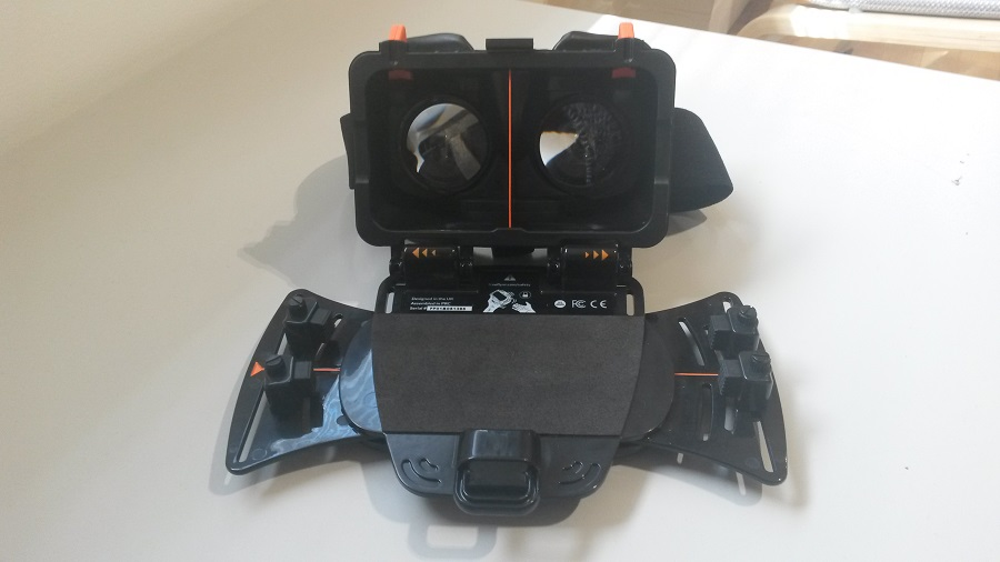 Test Freefly VR Beyond Design et Ergonomie casque ouvert