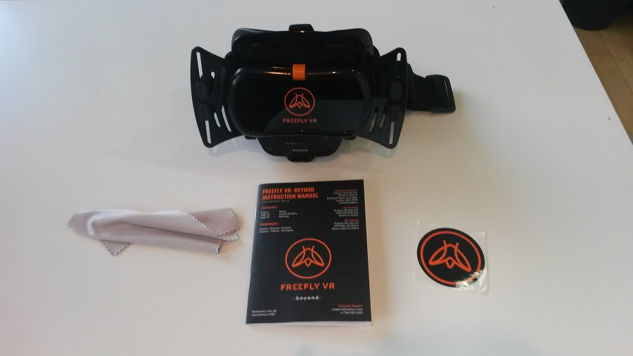 Test Freefly VR Beyond Unboxing boîte ouverte