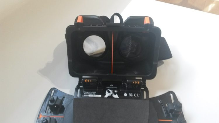 Test Freefly VR Beyond Prise en Main Champ Visuel
