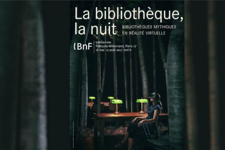 Bibliothèques mythiques exposition BDF Paris