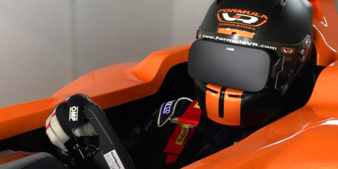 Formula VR simulateur Formule 1 réalité virtuelle