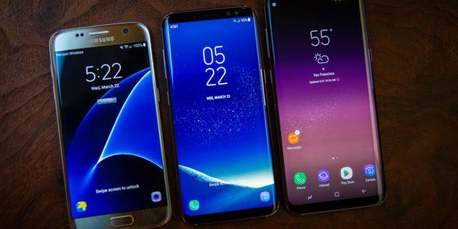 galaxy S6 vs S7 vs S8 samsung gear vr