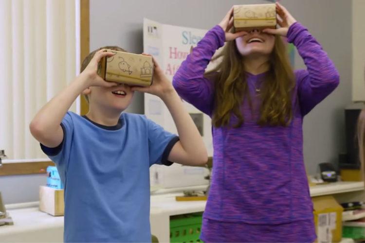 Google Expéditions Vr application gratuite enseignement réalité virtuelle