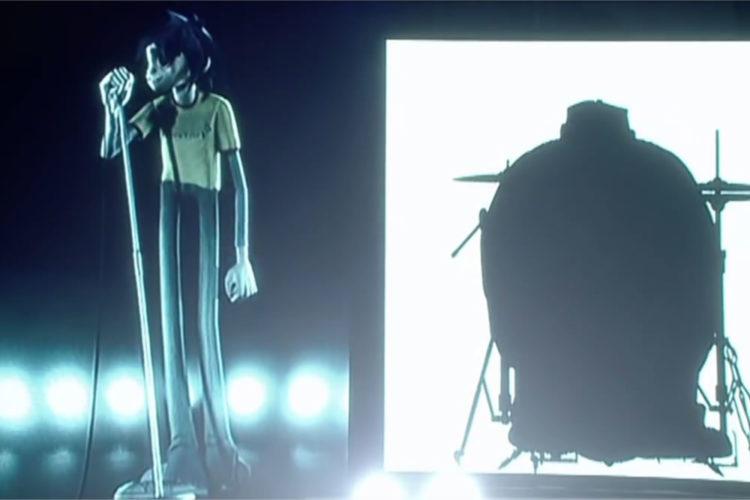 Gorillaz concert 360 degrés live