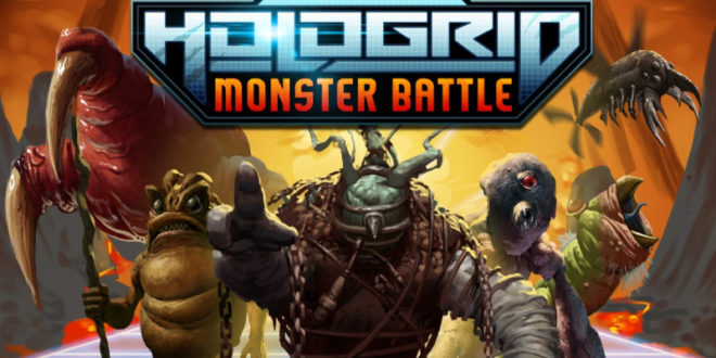 hologrid : monster battle vr samsung gear vr