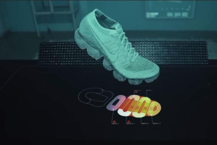 Nike réaliteé augmentée design