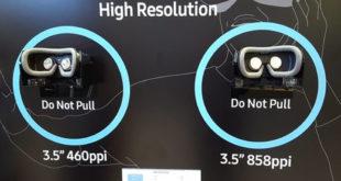 Nouvel écran ultra haute définition Samsung pour la VR réalité virtuelle