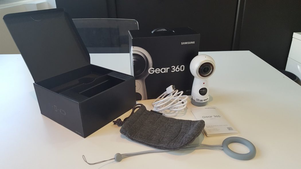 test gear 360 Samsung