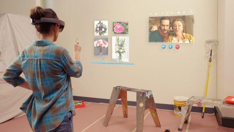 Skype for hololens selection concours jeux et applications AR 2017
