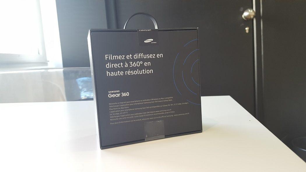 test gear 360 Samsung