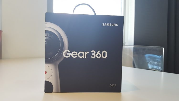 unboxing gear 360 2017 test