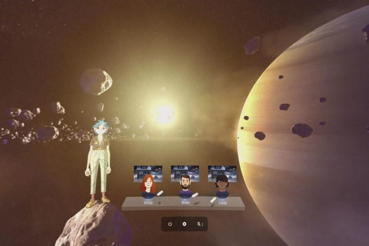 YouTube VR salles virtuelles