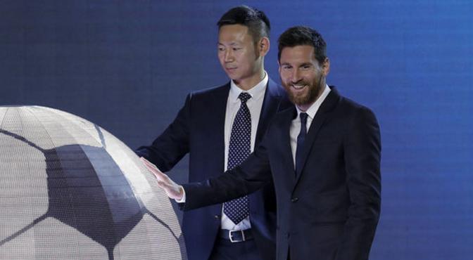Messi aura son propre parc d'attraction VR en 2019