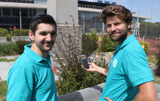 Charles Moszkowicz et Jean-Charles, les fondateurs de Biodiv Go, un Pokemon GO où les pokemon laissent place à la biodiversité