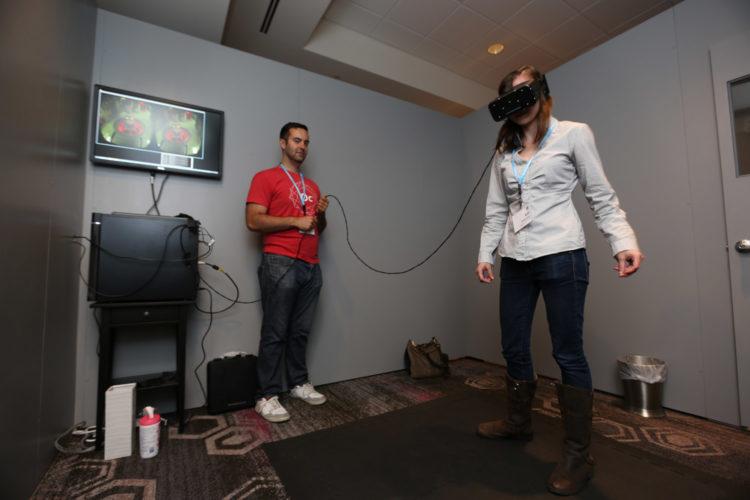 Oculus roomscale jeux vidéo le meilleur