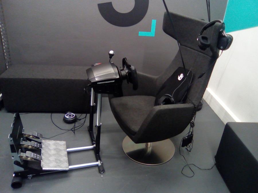 VirtualTime salle VR HTC Vive