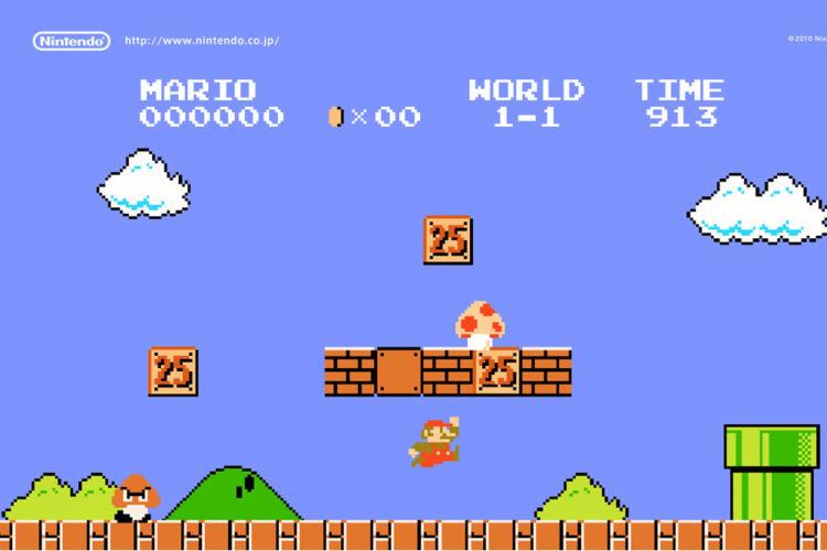 Démonstration Super Mario Bros en réalité augmentée