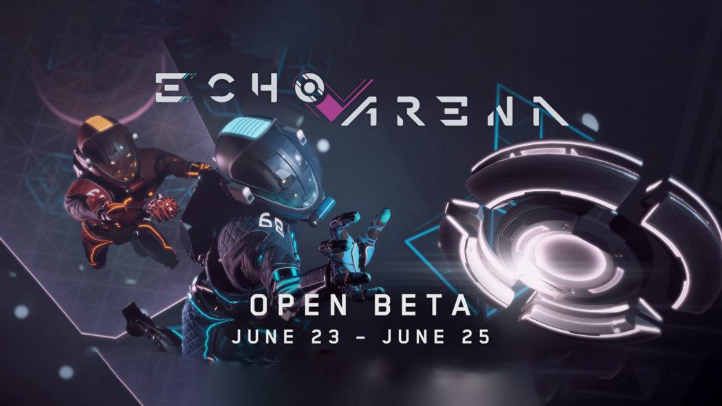 echo arena test oculus rift