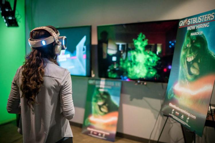 Ghostbusters réalité virtuelle