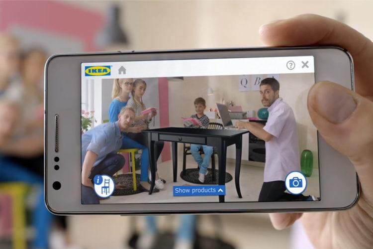 Ikea application AR Apple