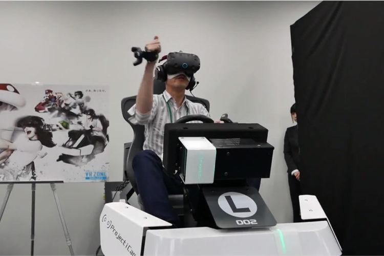 Mario Kart Arcade GP VR salle Japon réalité virtuelle
