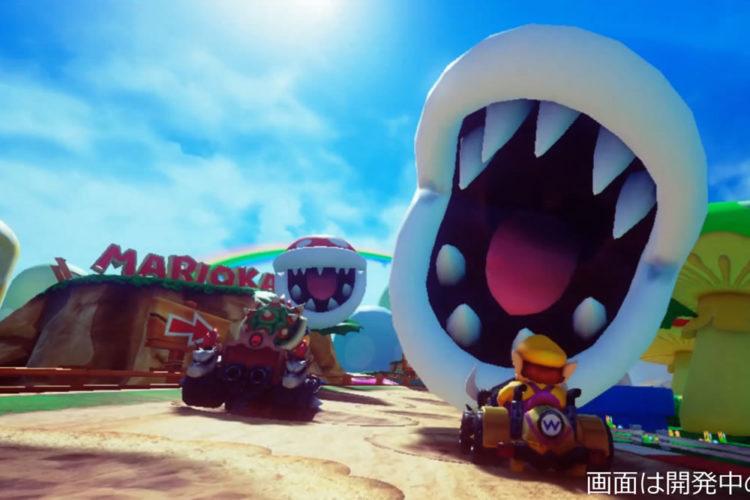 Mario Kart Arcade VR réalité virtuelle