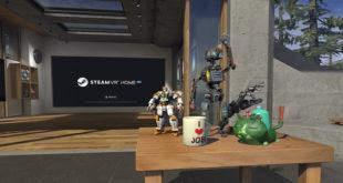 Steam VR figurines virtuelles à collectionner