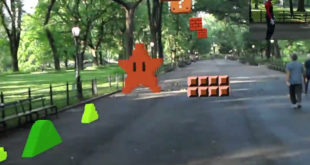 Super Mario Bros en réalité augmentée