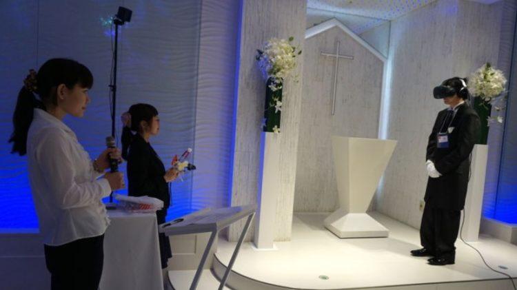 mariage réalité virtuelle japon htc vive
