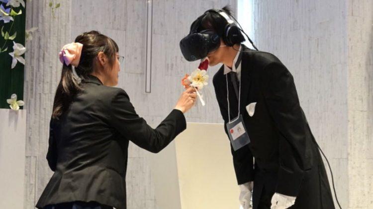 mariage réalité virtuelle japon htc vive insolite