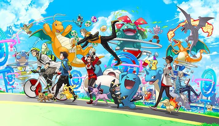 Pokemon GO anniversaire pikachu casquette sasha réalité augmentée