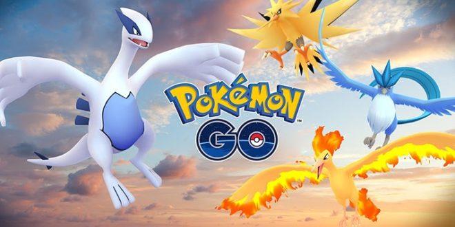 Pokémon GO - Les Pokémon Légendaires sont disponibles Lugia Artikodin