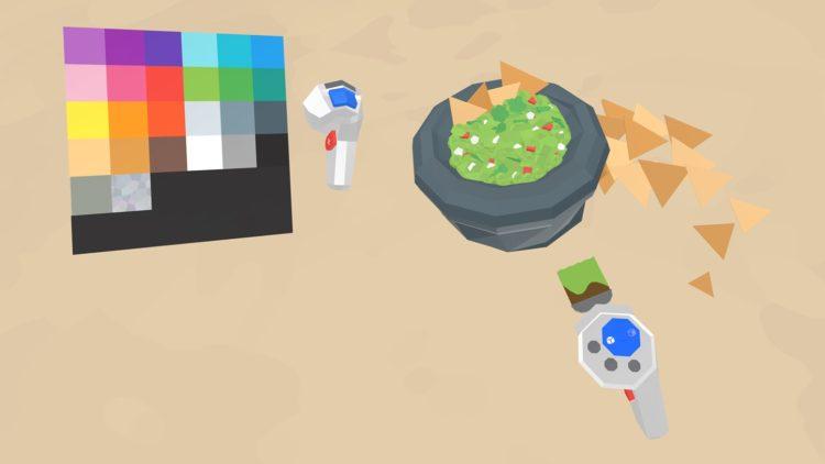 Test Google Block palette de peinture