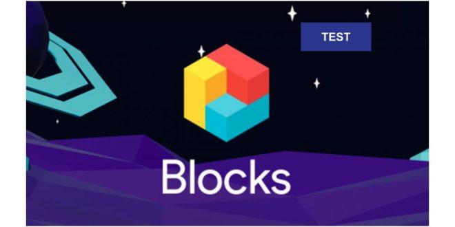 Test Google Blocks image à la une VR