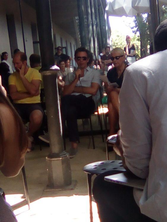 VR Arles Festival Jury Michel Hazanavicius