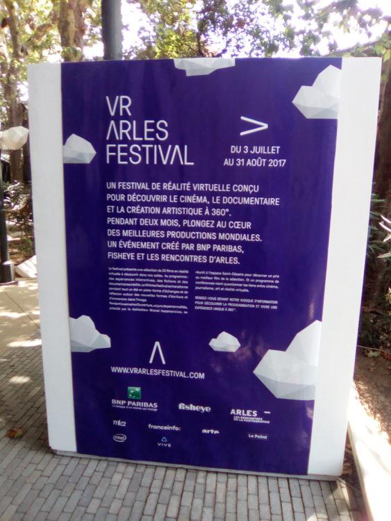VR Arles Festival BNP Paribas