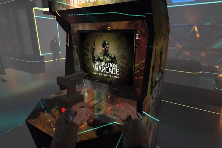 La premi re borne d arcade pour jouer en r alit augment e - Borne d arcade maison ...