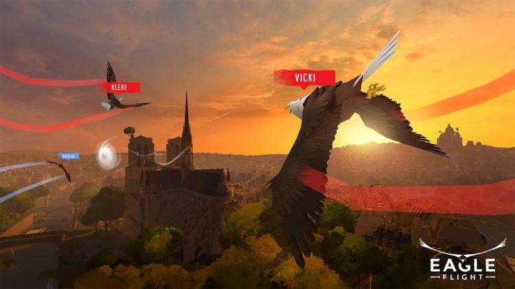 test jeu ubisoft eagle flight vr realite virtuelle