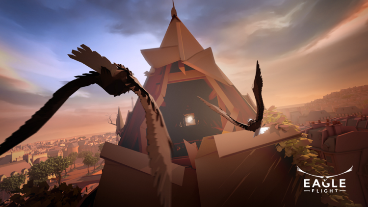 test jeu ubisoft eagle flight realite virtuelle